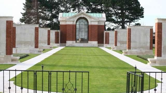Visite du cimetière de Dunkerque