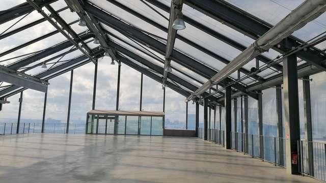 Visite de l'architecture du Frac Grand Large
