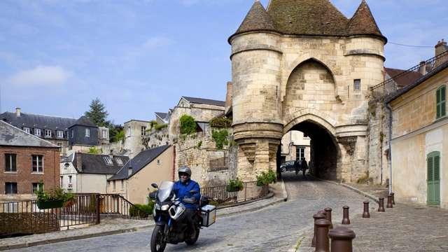 Balade moto - Du Laonnois au Soissonnais par les chemins de traverse