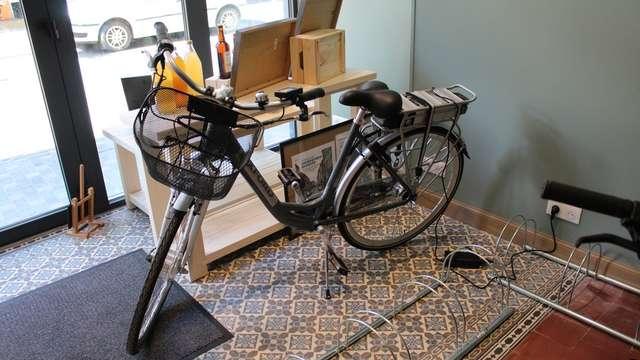 Boutique Les Copains d'Thiérache : Location de vélo