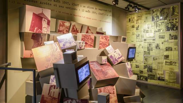 Espace muséographique de la Maison du Barétous