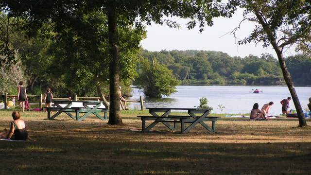 Aire de pique-nique du Lac à Vielle