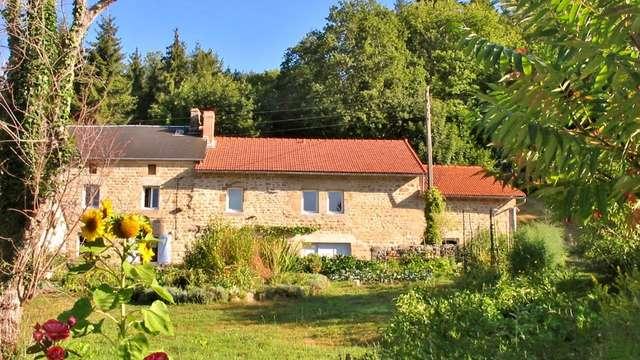 Location Gîtes de France - SAINT MARTIN CHATEAU - 6 personnes - Réf : 23G1094