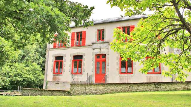 Location Gîtes de France - SAINT MARTIN CHATEAU - 4 personnes - Réf : 23G703