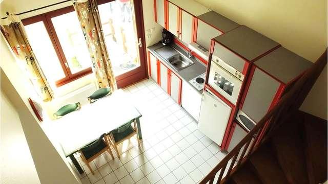 Location Gîtes de France - FAUX LA MONTAGNE - 4 personnes - Réf : 23G637