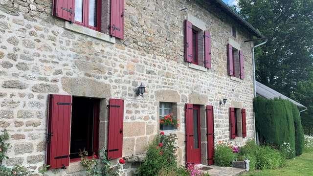 Location Gîtes de France - SAINT MARTIN CHATEAU - 6 personnes - Réf : 23G294