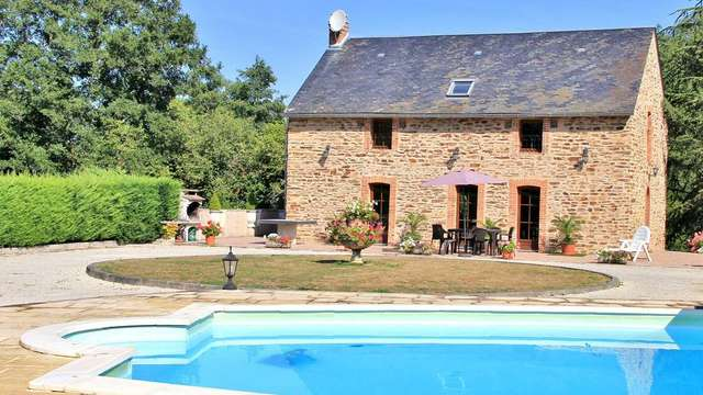 Location Gîtes de France - BOUSSAC BOURG - 6 personnes - Réf : 23G1071