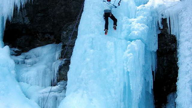 Cascade de glace Guides des 2 Vallées