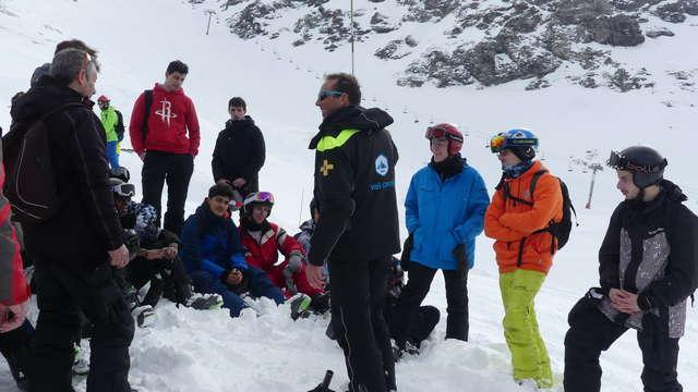 Les dessous du domaine skiable - Fabrication de la neige de culture