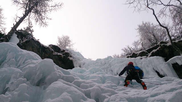 Cascade de glace - Guides Esprit Montagne