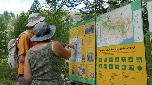 Parcours de randonnée - Vallée des Merveilles