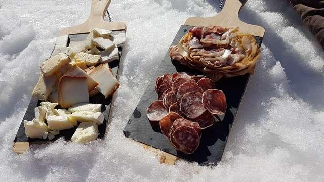 Sortie raquettes et dégustation - Randô Alpes