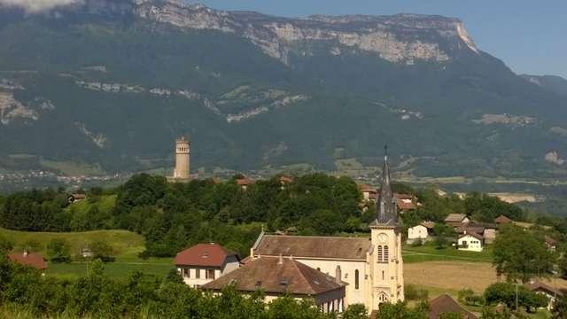 Itinéraire VTT Bramefarine les gorges de Saint Maximin