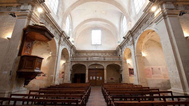 Portes ouvertes à la chapelle des Jésuites