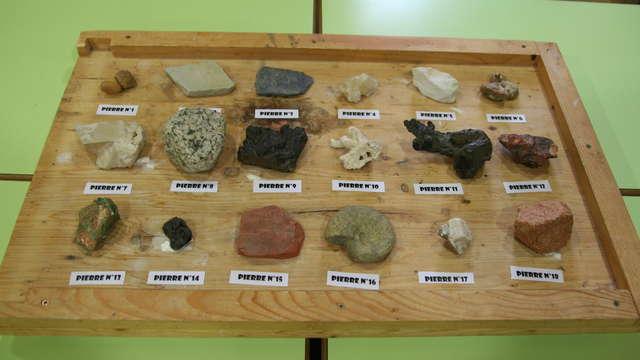 Anniversaire nature : Atelier du géologue