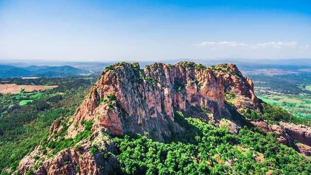Randonnée - Le rocher de Roquebrune - Groupes