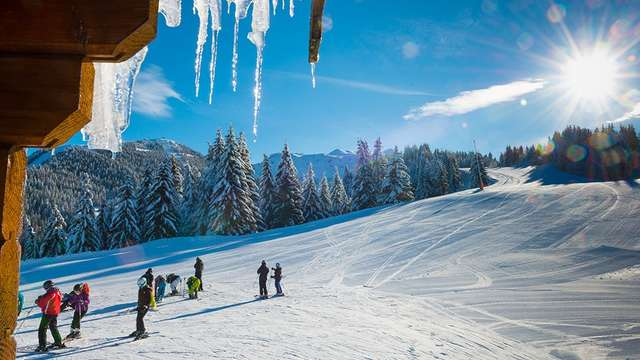Séjour promo hors vacances - hébergement et forfait de ski