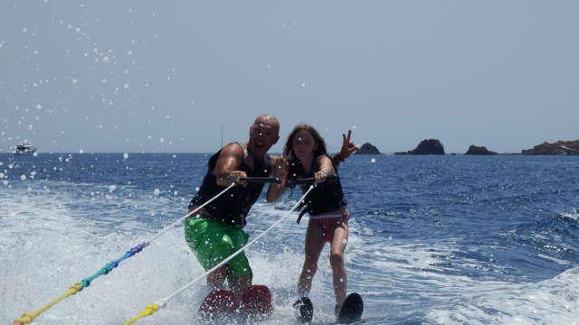 Slide Water Camp - Tour de ski nautique & wakeboard