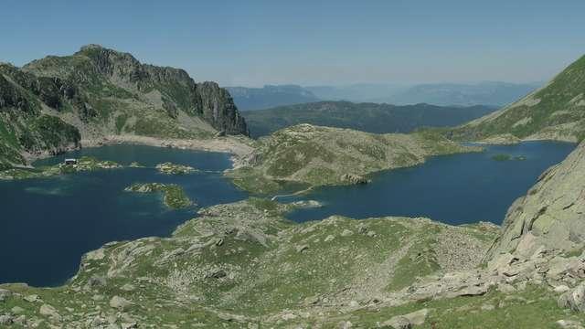 Les lacs des 7 Laux