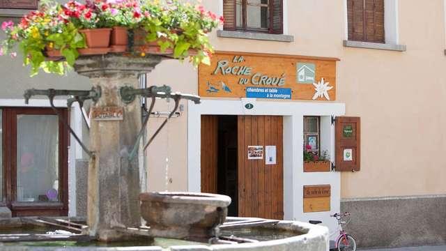 Chambres et table d'hôtes - La Roche du Croué