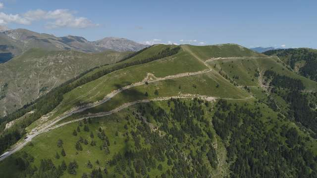 Sentier pédestre Turini-Camp d'Argent