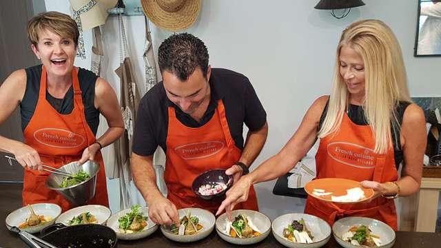 Gourmet cooking class Provence avec Jean-Marc Villard