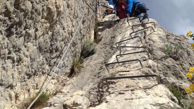 Via ferrata de Rouanne - Bureau des guides Les 2 vallées