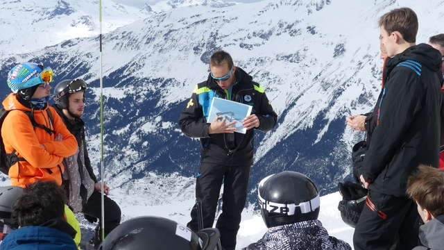 Les dessous du domaine skiable - Prévention du risque avalanche