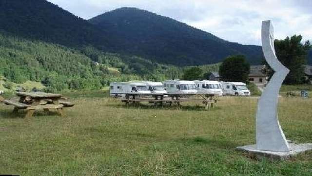 Aire de Stationnement camping-car des Egaux