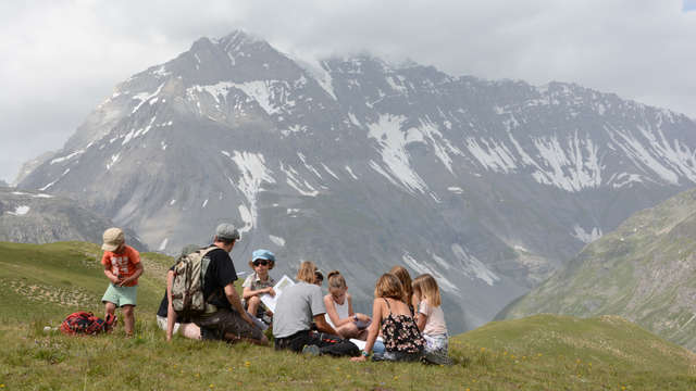 Nature workshops for children with the Vanoise National Park - Height of view