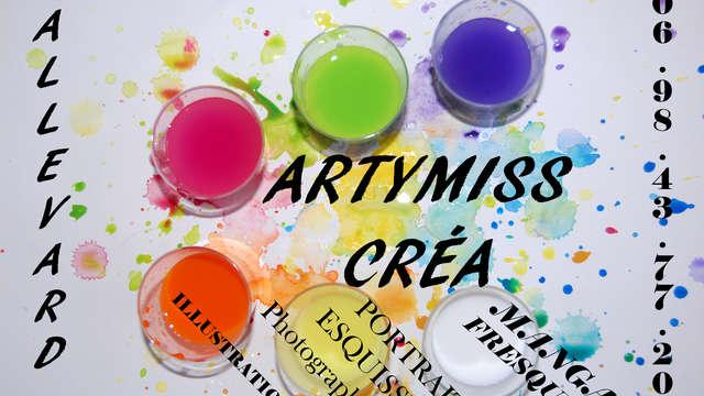 Cours de dessins, mangas et croquis avec Artymiss Créa