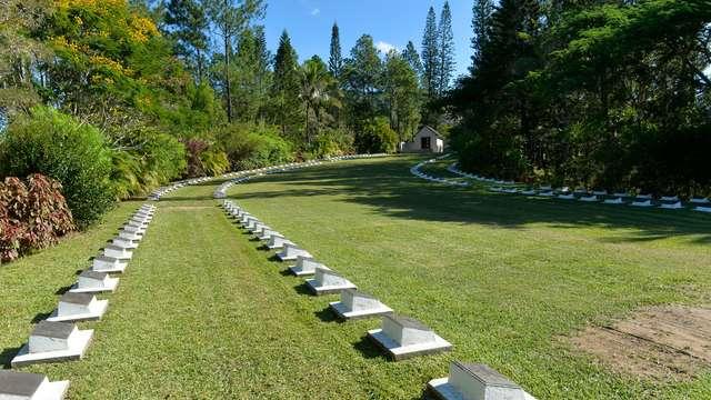 Cimetière néo-zélandais de Bourail