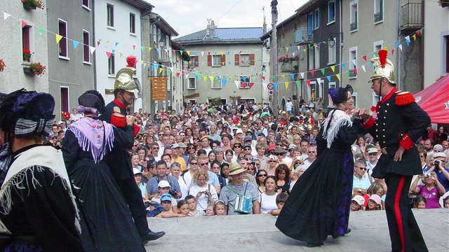 Traditional village feast 15 August
