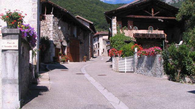 Parcours thématique village de Barraux