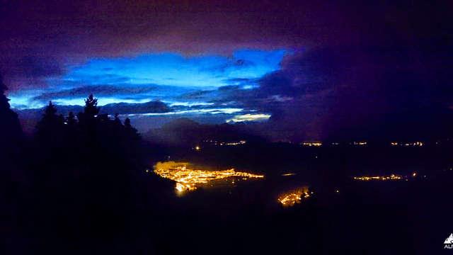 Randonnée Raquette After-ski : les 7 Laux by Night