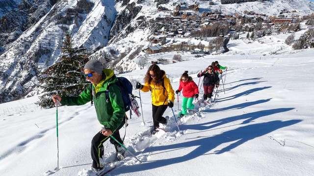 Sortie en raquettes à neige - Bureau des Guides & Accompagnateurs