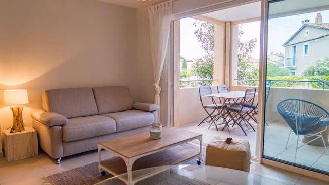 Herr THOMAS - Apartment mit Terrasse in Port Grimaud.