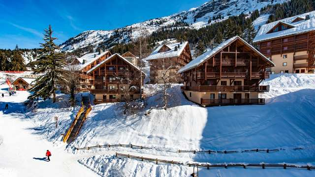 Le Chalet des Neiges holiday flats