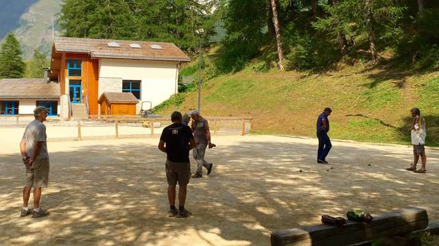 Tournoi de pétanque par l'association