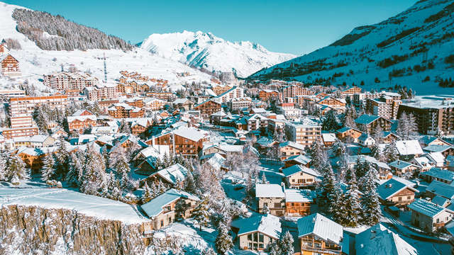 Motor-home area - Les 2 Alpes