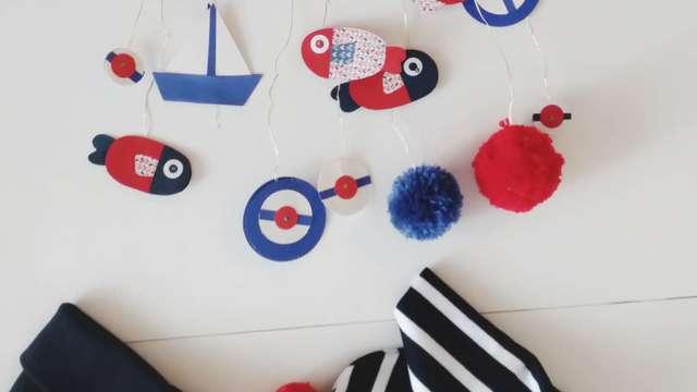 Atelier estival enfants - Guirlande marine