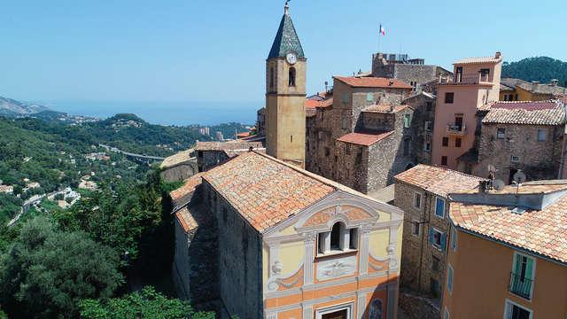 Randonnée de Gorbio à Sainte-Agnès par le Col de Bausson