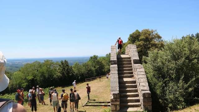 Balade-découverte de Tréconnas au Mont July