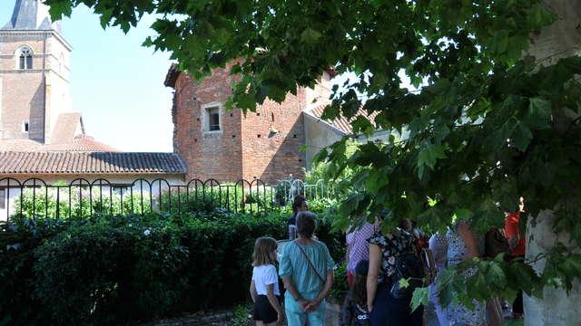 Parcours commenté au village de Saint-Trivier-de-Courtes