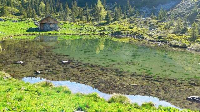 Le lac du Léat