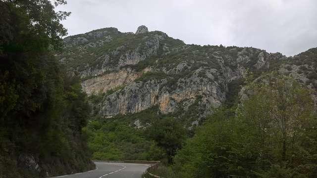 Escalade - Mur d'escalade de Castillon
