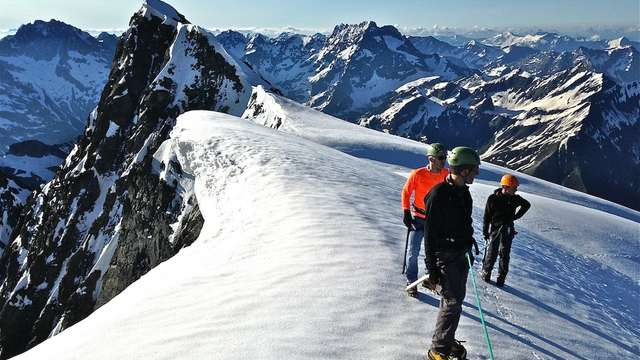 Sortie alpinisme Cime du Vallon - Bureau des Guides Champsaur Valgaudemar
