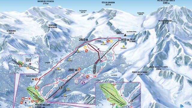 Domaine alpin de Ceillac