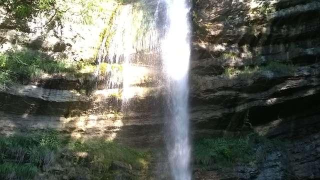 Cascades de l'Alloix - Variante  la grande cascade