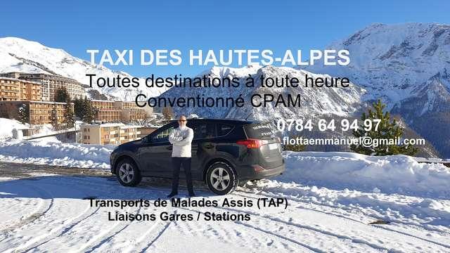 Taxi des Hautes-Alpes